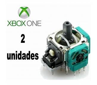 2 x MODULO JOYSTICK ANALOGICO PARA XBOX ONE X-BOX 4 R3 L3 DE REPUESTO AXIS 3D - 1