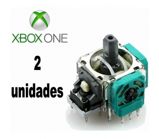2x MODULO JOYSTICK ANALOGICO PARA XBOX ONE X-BOX 4 R3 L3 DE AXIS 3D ARREGLATELO - 1