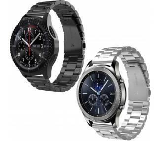 Reloj de pulsera de correa de acero inoxidable para Samsung Gear S3 Frontier  - 1