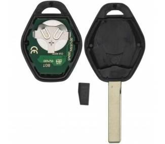 SLEUTEL COMPLEET MET ELEKTRONICA VOOR BMW SERIE 3 5 6 7433 Mhz PCF7935 HU92