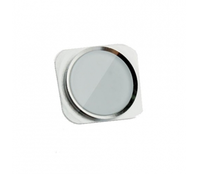 iPhone 5S Home Button - Plastic part only - Silver ARREGLATELO - 1