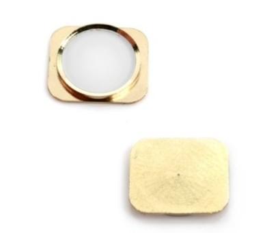 iPhone 5S Home Button - Plastic part only - Gold ARREGLATELO - 1