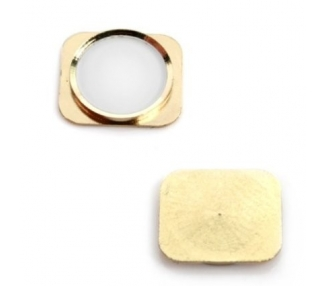 iPhone 5S Home Button - Plastic part only - Gold