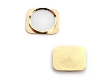 Boton Home Inicio de plastico recambio oro dorado para Iphone 5S - Nuevo ARREGLATELO - 1