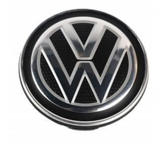 TAPA LLANTAS RUEDA VOLKSWAGEN VW 56MM GOLF POLO PASSAT EMBLEMA LOGO LLANTA  - 1