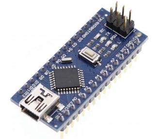 NANO V3.0 ATmega328P CH340 SOLDADO 100% Compatible con Arduino B0006 ARREGLATELO - 1