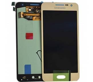 Pantalla Original para Samsung Galaxy A3 A300F | Color Dorado  - 1