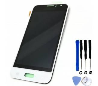 Pantalla Original para Samsung Galaxy J1 J120F, OLED, Blanco  - 1