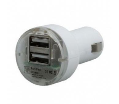 Autolader - Dubbele USB-poorten - Kleur Wit ARREGLATELO - 1