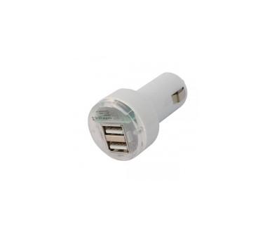 Autolader - Dubbele USB-poorten - Kleur Wit ARREGLATELO - 2