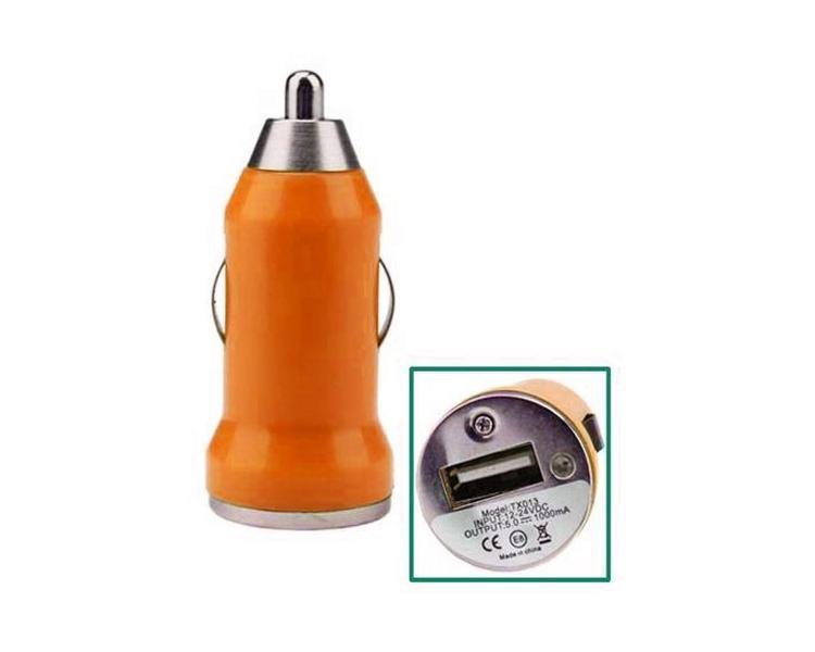 Autoladegerät - Doppelte USB-Anschlüsse - Farbe Orange ARREGLATELO - 1