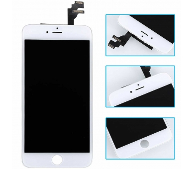 Pantalla Completa con Marco para Apple iPhone 6 Plus Blanco Blanca ULTRA+ - 2