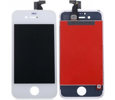 Display For Apple iPhone 4 | Color White |   ULTRA+ - 2