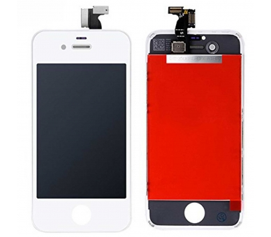 Ecran pour Apple iPhone 4S Blanc ULTRA+ - 2