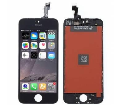 Voller Retina-Bildschirm für iPhone 5C Schwarz Schwarz ARREGLATELO - 2