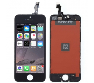 Pantalla Completa Retina para iPhone 5C Negro Negra ARREGLATELO - 2