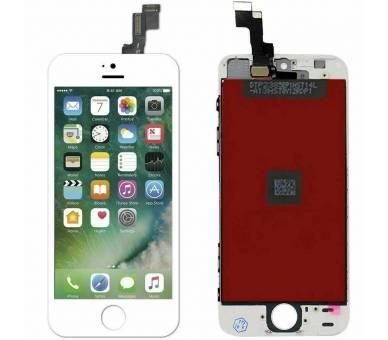 Schermo intero per iPhone 5S Bianco Bianco ARREGLATELO - 2