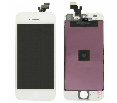 Pantalla Completa Retina para Apple iPhone 5 Blanco Blanca +++ ULTRA+ - 2