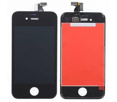 Pantalla Completa con Marco para Apple iPhone 4 Negro Negra ULTRA+ - 2