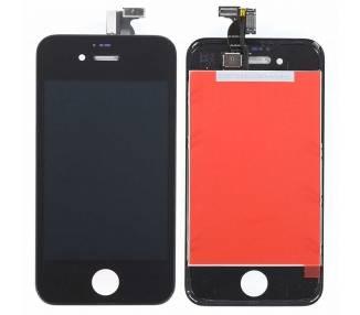 Pantalla Completa con Marco para iPhone 4 Negro Negra ARREGLATELO - 2
