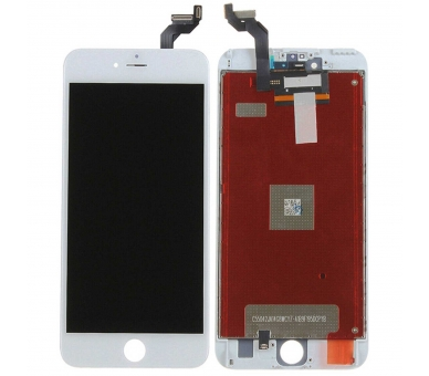 Display for iPhone 6S Plus, Color White ARREGLATELO - 2