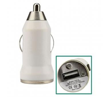 Ładowarka samochodowa - podwójne porty USB - kolor biały ARREGLATELO - 1