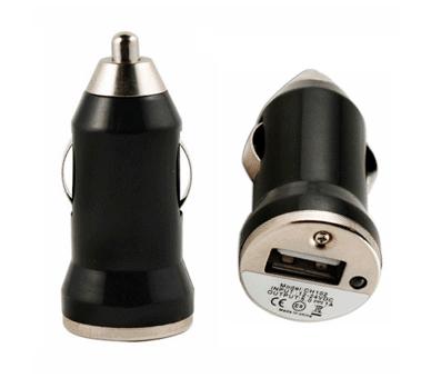 Ładowarka samochodowa - podwójne porty USB - kolor czarny ARREGLATELO - 2