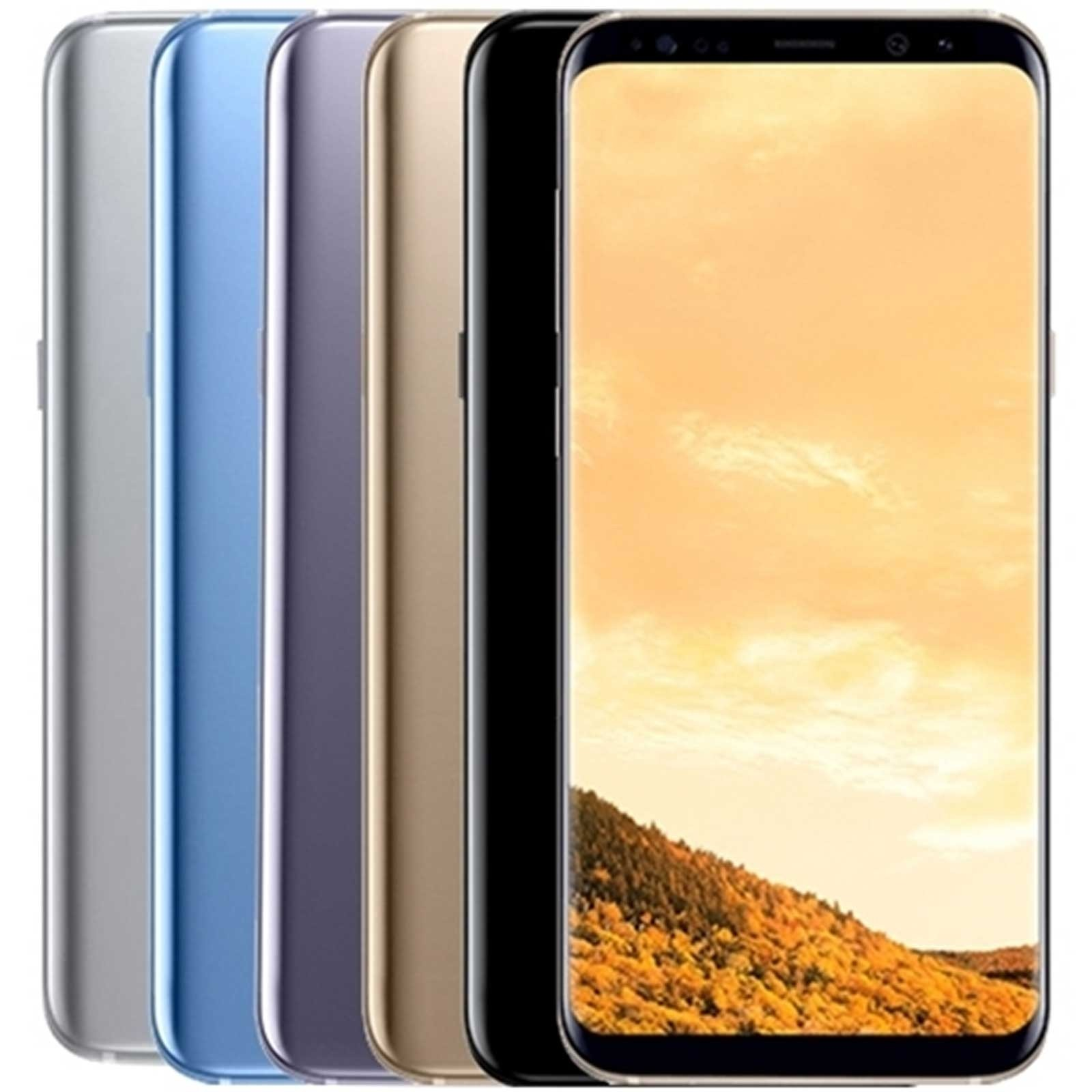 Samsung Galaxy S8 Plus - SM-G955F - European Version - Unlocked - Refurbished Samsung - 1