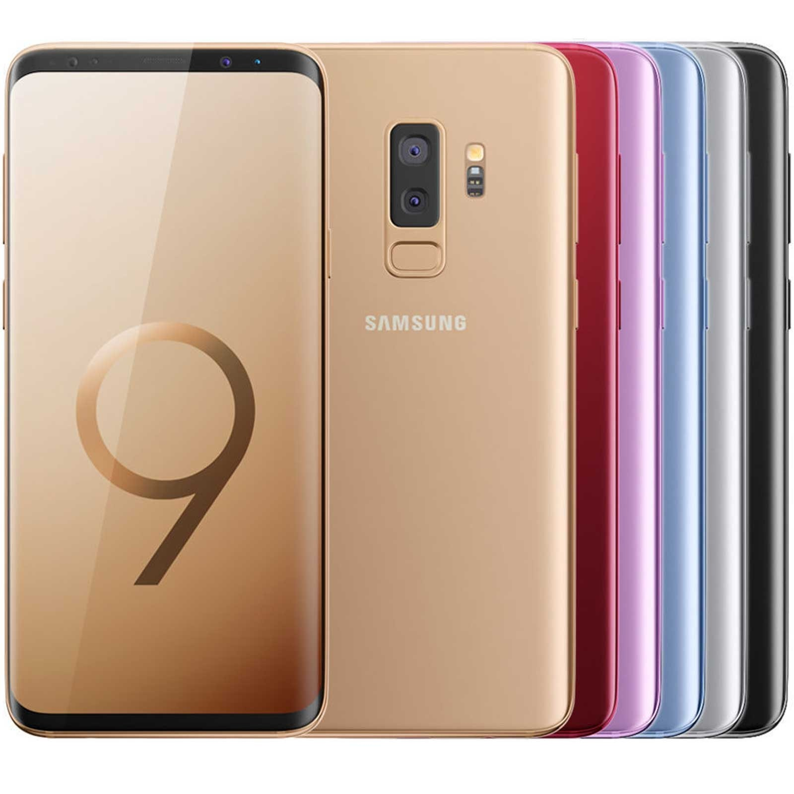 Samsung Galaxy S9 Plus - SM-G965F - European Version - Unlocked - Refurbished Samsung - 1