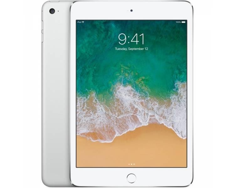 Apple iPad Mini Wi-Fi 16GB Blanca Blanco - Plata / A1432 ME279ZP/A / OUTLET - 1