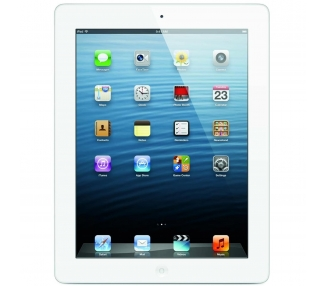 Apple iPad 3 Wi-Fi 16 Go iPS BLANC BLANC ARGENT / A1416 MD328C / A / OUTLET  - 1