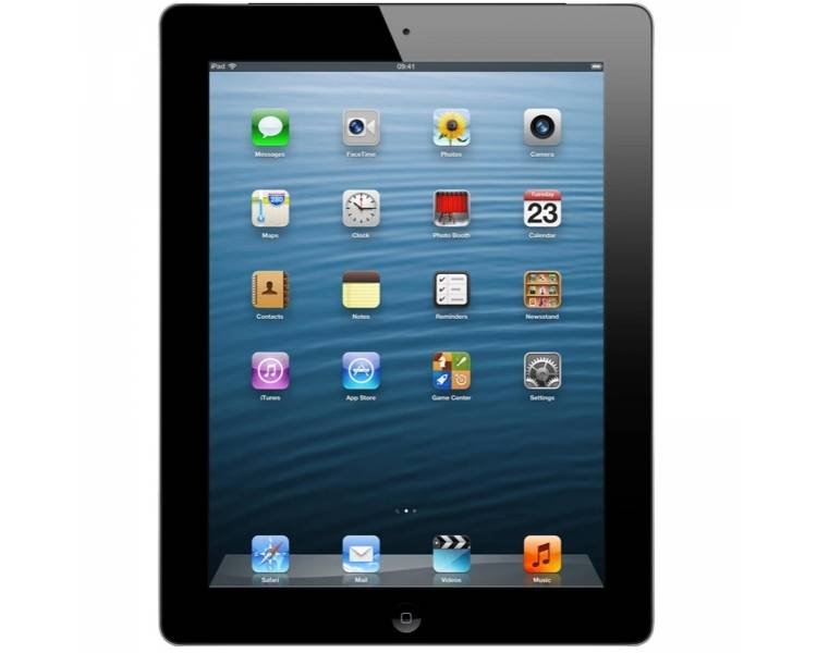 Apple iPad 2 Wi-Fi 16GB iPS NEGRA GRIS / A1395 MC769C/A / OUTLET Apple - 1