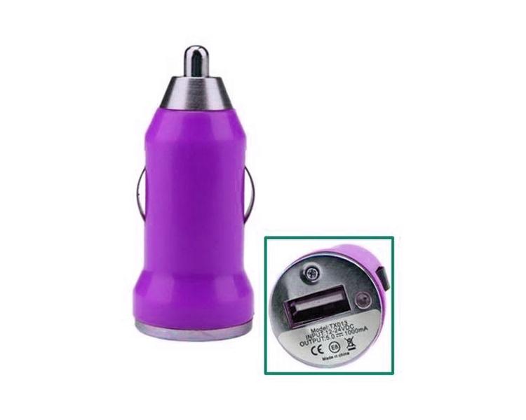 Autolader - Dubbele USB-poorten - Kleur Paars ARREGLATELO - 1