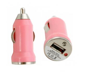Car Charger - Double USB ports - Color Rose ARREGLATELO - 1