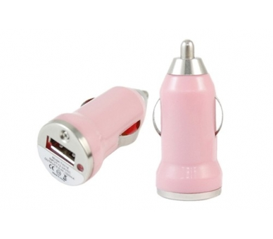 Car Charger - Double USB ports - Color Rose ARREGLATELO - 2