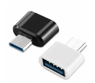 Adaptador USB 3.1 a USB Tipo C [ OTG - Android - Xiaomi - MacBook Pro - Air ]