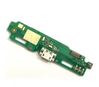 Micro-USB-oplaadplaat met antenne en microfoon voor Xiaomi Redmi 3, Redmi 3 Pro