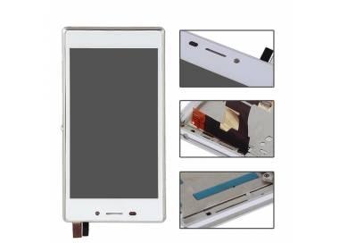 Pantalla Completa con Marco para Sony Xperia M2 D2302 D2303 D2305 D2306 Blanco ARREGLATELO - 2