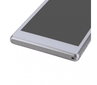 Display For Sony Xperia M2, Color White, With Frame ARREGLATELO - 6