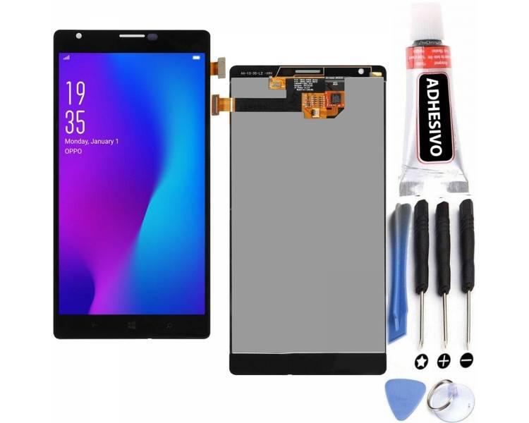 Volledig scherm voor Nokia Lumia 1520 Zwart Zwart FIX IT - 1