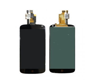 Ecran pour LG NEXUS 4 E960 Noir ULTRA+ - 2