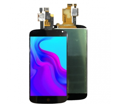 Ecran pour LG NEXUS 4 E960 Noir ULTRA+ - 3