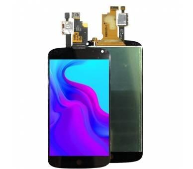 Vollbild für LG NEXUS 4 E960 Schwarz Schwarz ARREGLATELO - 3