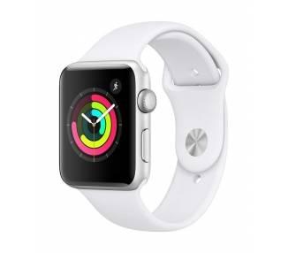 Apple Watch (Series 3) 38 - Aluminio Plata - Correa Deportiva  - 1