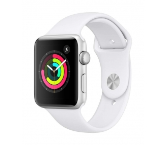 Apple Watch (Series 3) 38 - Aluminio Plata  - Correa Deportiva