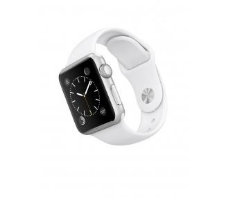 Apple Watch (Series 2) 42 mm Aluminium - Witte sportarmband