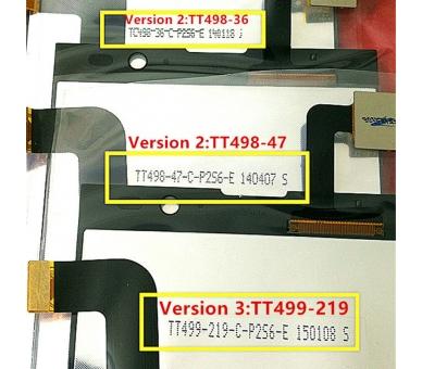 Pełny ekran dla iNew V3 HD Woxter Zielo S11 White White ARREGLATELO - 2