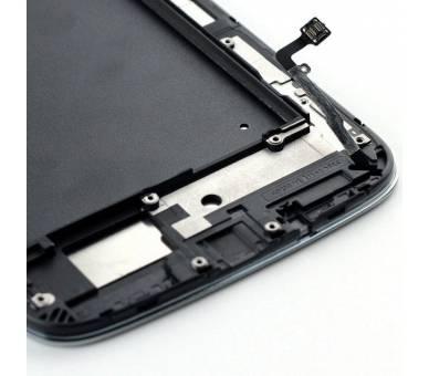 Pełny ekran dla Samsung Galaxy Mega i9200 i9105 Czarny Czarny ARREGLATELO - 4