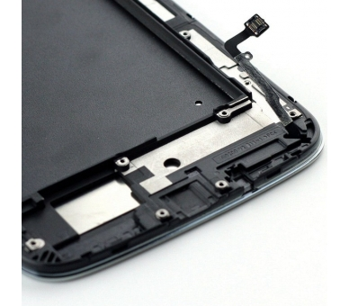 Volledig scherm voor Samsung Galaxy Mega i9200 i9105 Zwart Zwart FIX IT - 4
