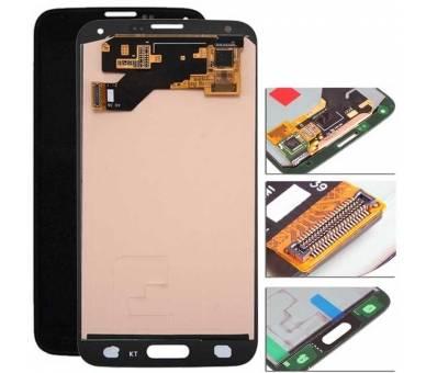 Oryginalny pełny ekran do Samsung Galaxy S5 G900F i9600 G900A G900V czarny Samsung - 1